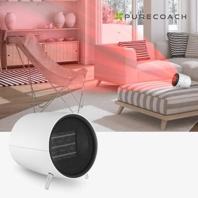 퓨어코치 CH1000W 세라믹 PTC 미니온풍기 가정용 히터