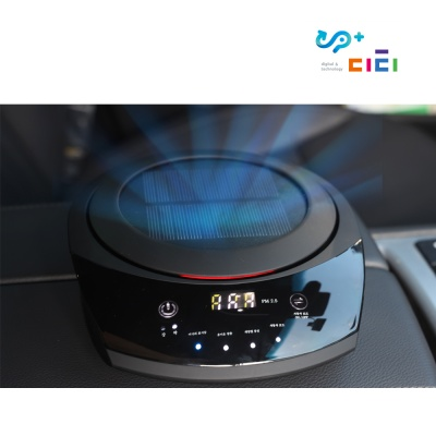 UP+ 디티 에어퓨리 C1 태양열 차량용 공기청정기