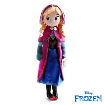 겨울왕국 안나(Anna) 봉제인형(60cm)