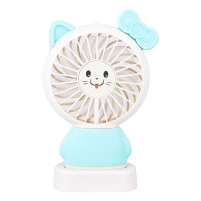 모찌 미니 선풍기(고양이_캣) 휴대용 충전식 받침대