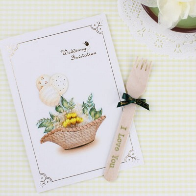 G0886 / wedding 바구니 카드