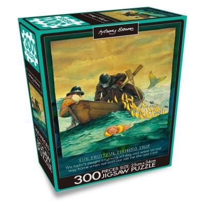 앤서니 브라운 300PCS 직소퍼즐 : 낚시여행
