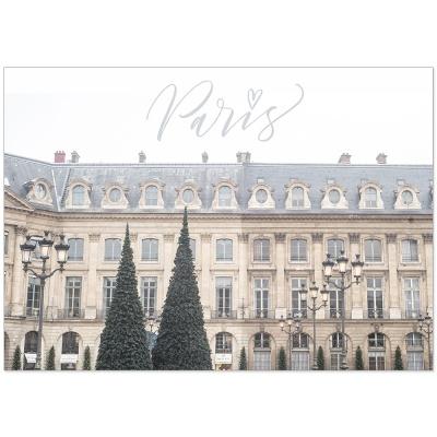 파리 산책길 - 인테리어포스터