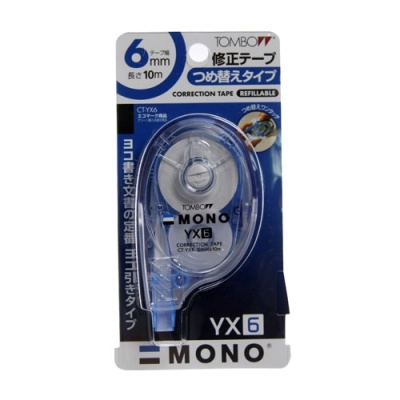 [톰보우] 수정테이프 YX-6 [개/1] 94462