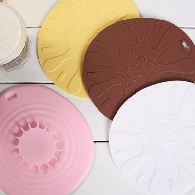 밀크크라운 실리콘 냄비받침 / 인덕션 냄비받침