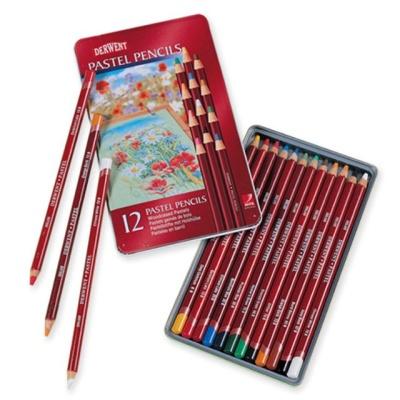 더웬트 연필파스텔 색연필 12색