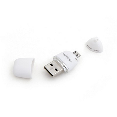 [메모렛] 에그 EGG 64G OTG USB메모리 마이크로SD카드 탈착형