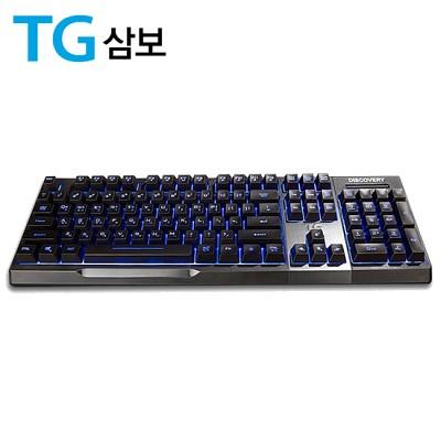 TG삼보 LED 플런저2 게이밍 키보드 TG-K9500 (7가지 LED 색상 / 4단계 백라이트 조정 / 멀티미디어 단축키 / 2X 터보모드)