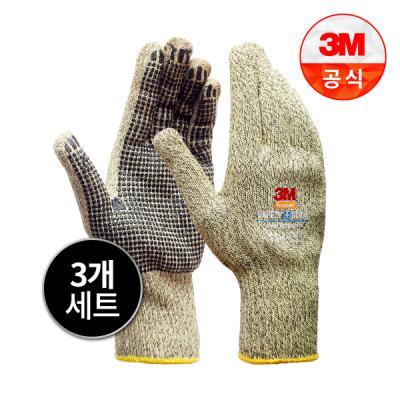 [3M]Safety Glove 뜨거운물체작업용 방열 안전장갑_XL 3개세트