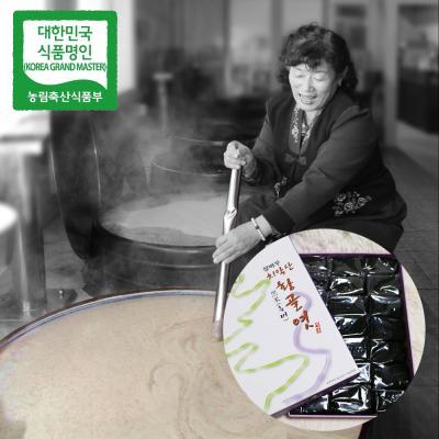 장바우 치악산 황골엿 흑미엿 800g/선물세트