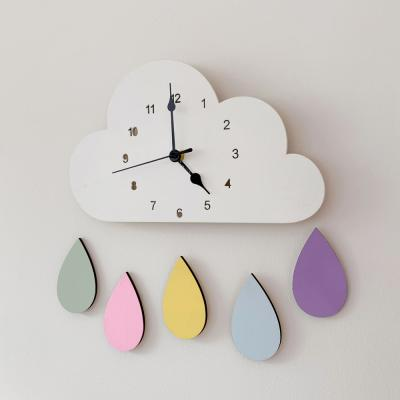 아이방 인테리어 시계 벽 거실 무소음 ba-7424 레인