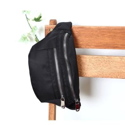 BLACK 여행 캐주얼 힙색 허리 가방 야외 보조 20대