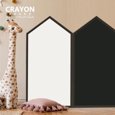 [꼬메모이] 크레용보드/자석 칠판 화이트 보드 분필