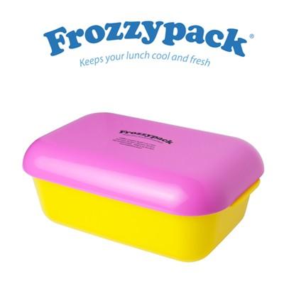 [Frozzypack]세계최초 신선도가 유지되는 냉장도시락 프로지팩(joyful-옐로우선홍)