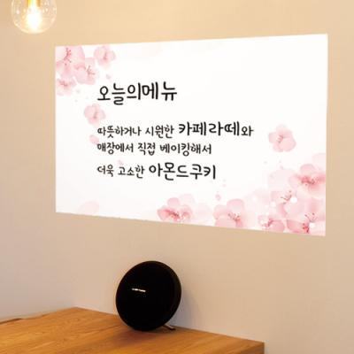 ch891-분홍벚꽃_칠판시트지