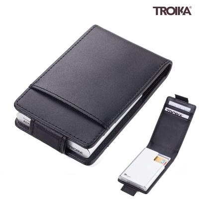 트로이카 BLACK & SILVER 카드케이스 블랙 (CCC83/BK)