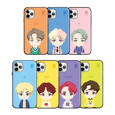 [BTS] UPPER BODY OPEN CARD CASE
