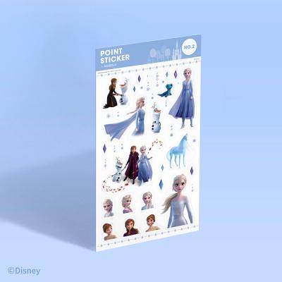 [디즈니] 포인트 스티커 - 겨울왕국 2 (no.2)