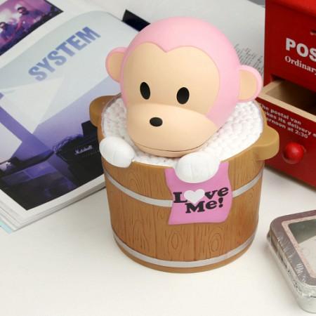 몽이 목욕시간 저금통 - 핑크