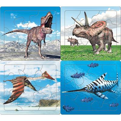 7 10 12 15조각 판퍼즐 - 공룡은 내 친구 (4종)