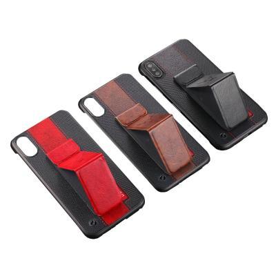P407 아이폰11 XR XS X 프로 맥스 스탠딩 하드 케이스