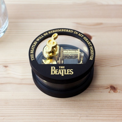 비틀즈 오르골 - 헤이주드(블랙원형)