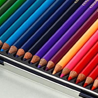 문화 36색 고급 색연필(틴)