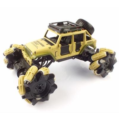 크라토스 4륜구동 드리프트레이싱 메카넘휠 옐로우 RC
