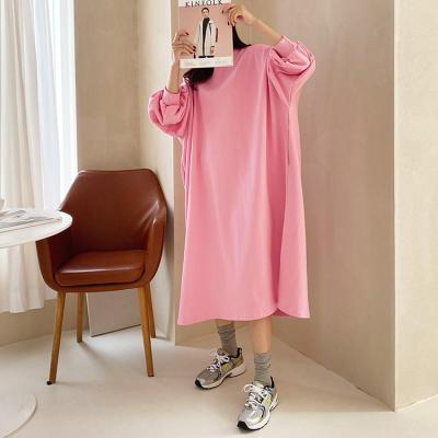 Trend Cotton Boxy Long Dress