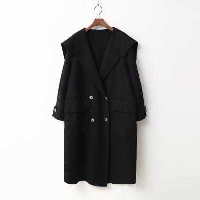 Wool Sailor Button Coat - 핸드메이드