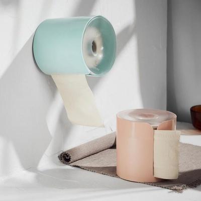 화장실 부착식 휴지걸이 욕실 수납함 인테리어 용품