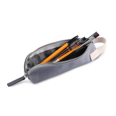 Zippered Pencil Case (캔버스)라이트그레이