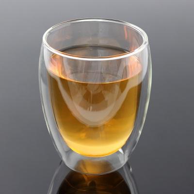 [로하티]멜리아 이중유리컵 / 홈카페 주스 물잔