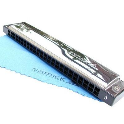 삼익 하모니카 SH-24HM 삼익악기 아름다운 음색 풍부한 음량 교재용 악기
