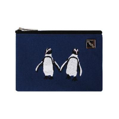 지앤초이 트윈펭귄 카드파우치_penguin card pouch
