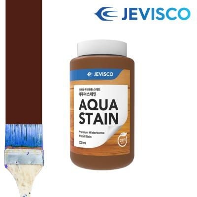 제비스코 아쿠아스테인 0.5L 목제페인트