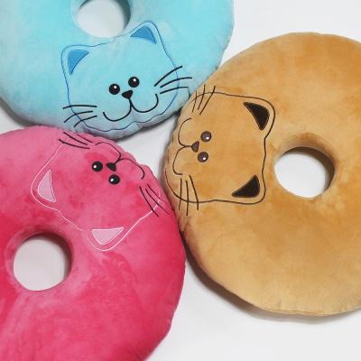 스마일캣 도넛방석