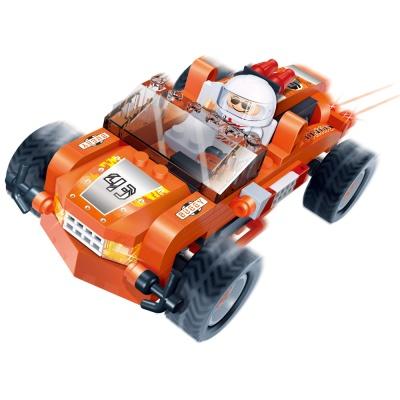 [3D퍼즐마을][반바오] BO8623 터보파워 오렌지볼-풀백 모터