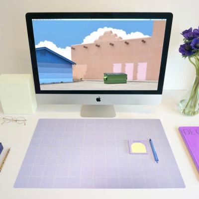 Simple Line Desk Mat [Lilac]