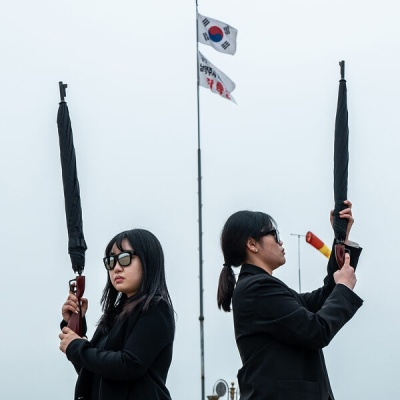 도심 속 스나이퍼 우산