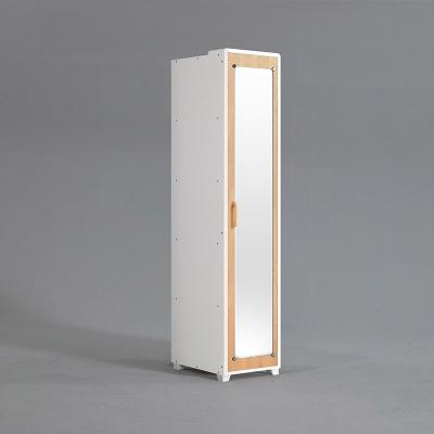 피너 거울 도어형 선반 옷장 400 (착불)