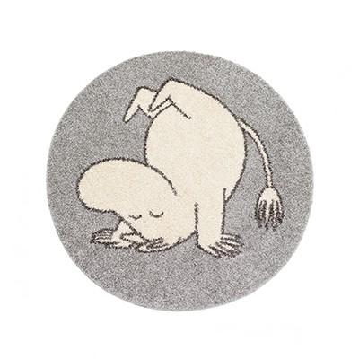 러그 moomin rug tumbling silver