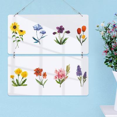 nl123-멀티아크릴액자_다양한꽃그림(2단)