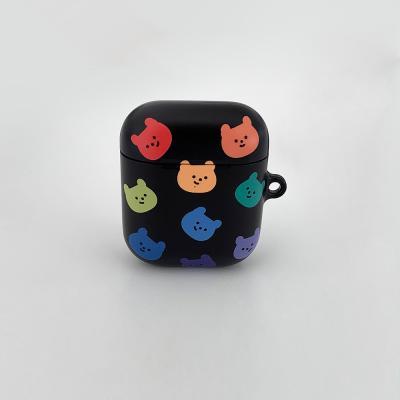 rainbow face gummy [hard 에어팟케이스]