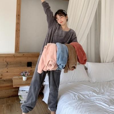 스타잇 극세사 융털 파자마 수면 잠옷 세트