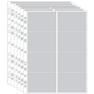 데얼스 포토카드 포카바인더 공용 3공 양면 포켓내지