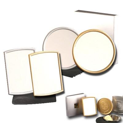 HK 은경 손거울 거울 내 실제얼굴의 95% 재현되어 보이는 은경손거울