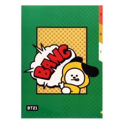 [BT21] 3 포켓 파일 폴더 / 치미(CHIMMY)