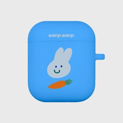 Rabbit carrot-blue(Air Pods)