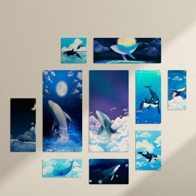 tf271-멀티액자_바다를헤엄치는고래들